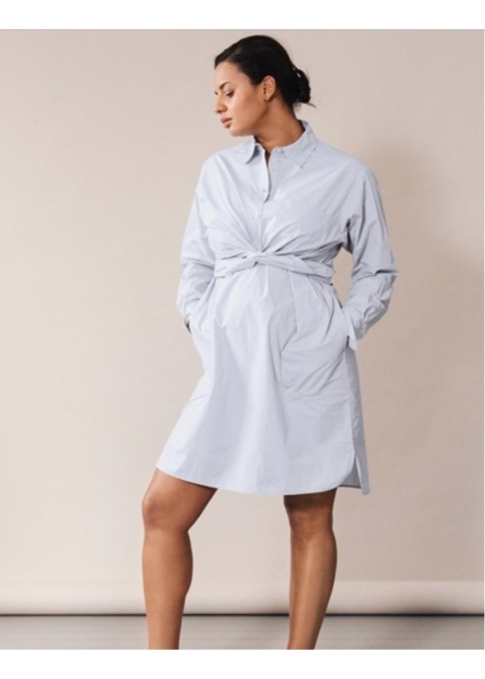 Boob Design Boob Design, The Duo Shirtdress in Sky Blue