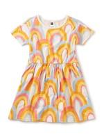 Tea Collection Rainbows Skater Dress