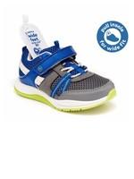 Striderite Stride Rite, Grey & Blue 360 Blitz Sneaker