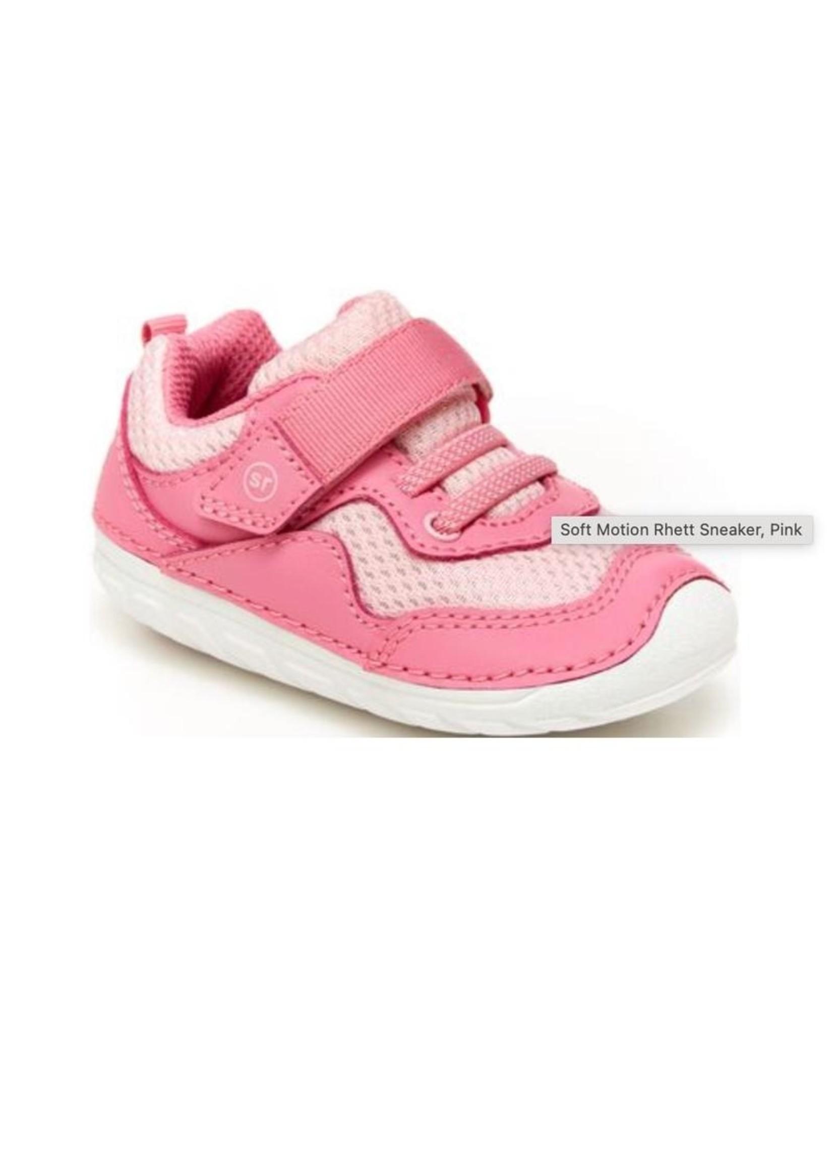 Striderite Stride Rite, Soft Motion Rhett Sneaker in Pink
