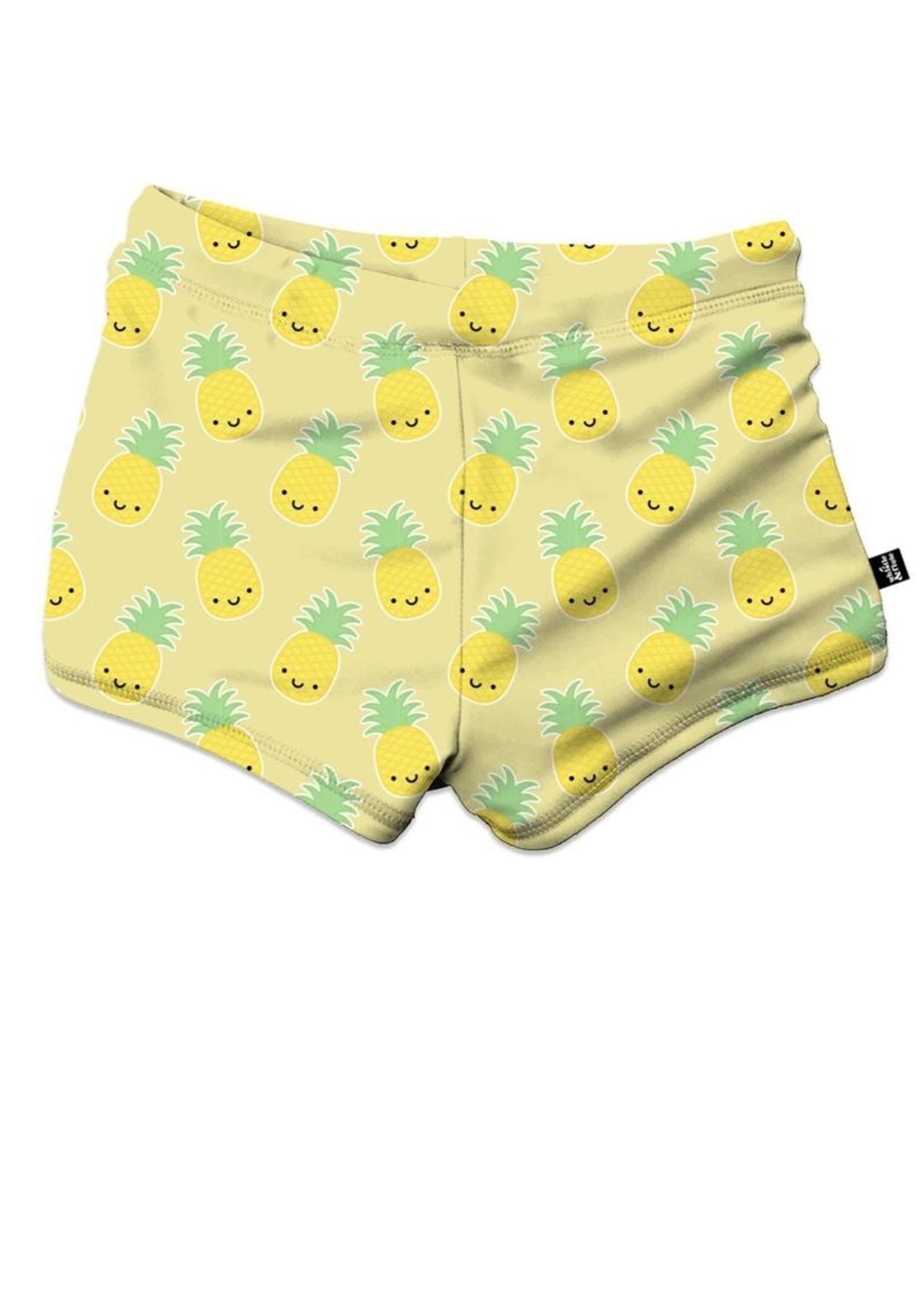Whistle & Flute Whistle & Flute, Kawaii Pineapple Swim Trunks