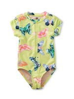Tea Collection Tea Collection, Butterfly Rash Guard One-Piece Swimsuit
