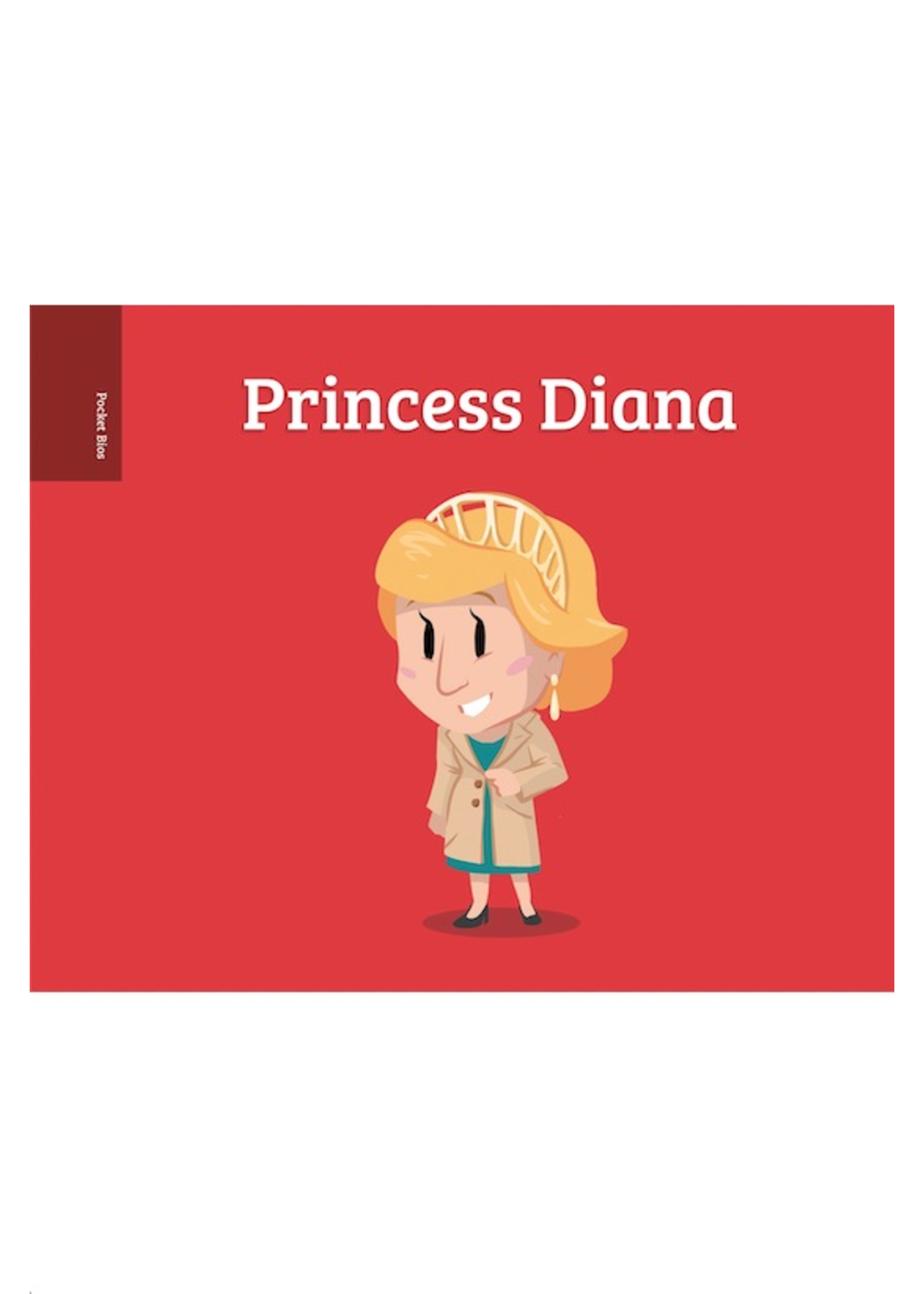Raincoast Books Pocket Bios: Princess Diana By Al Berenger