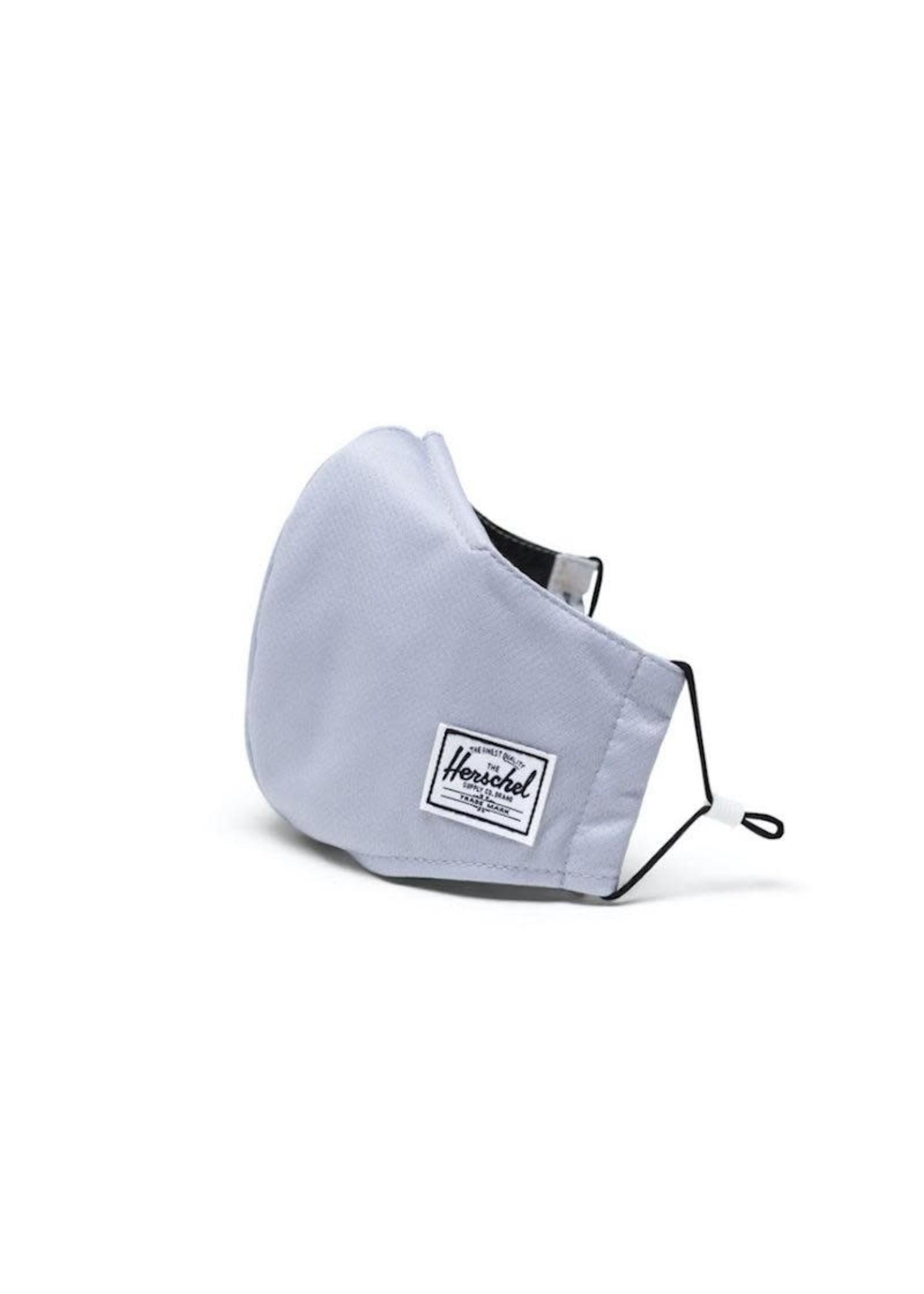 Herschel Supply Co. Herschel Supply, Classic Fitted Face Mask, Adult, Light Grey
