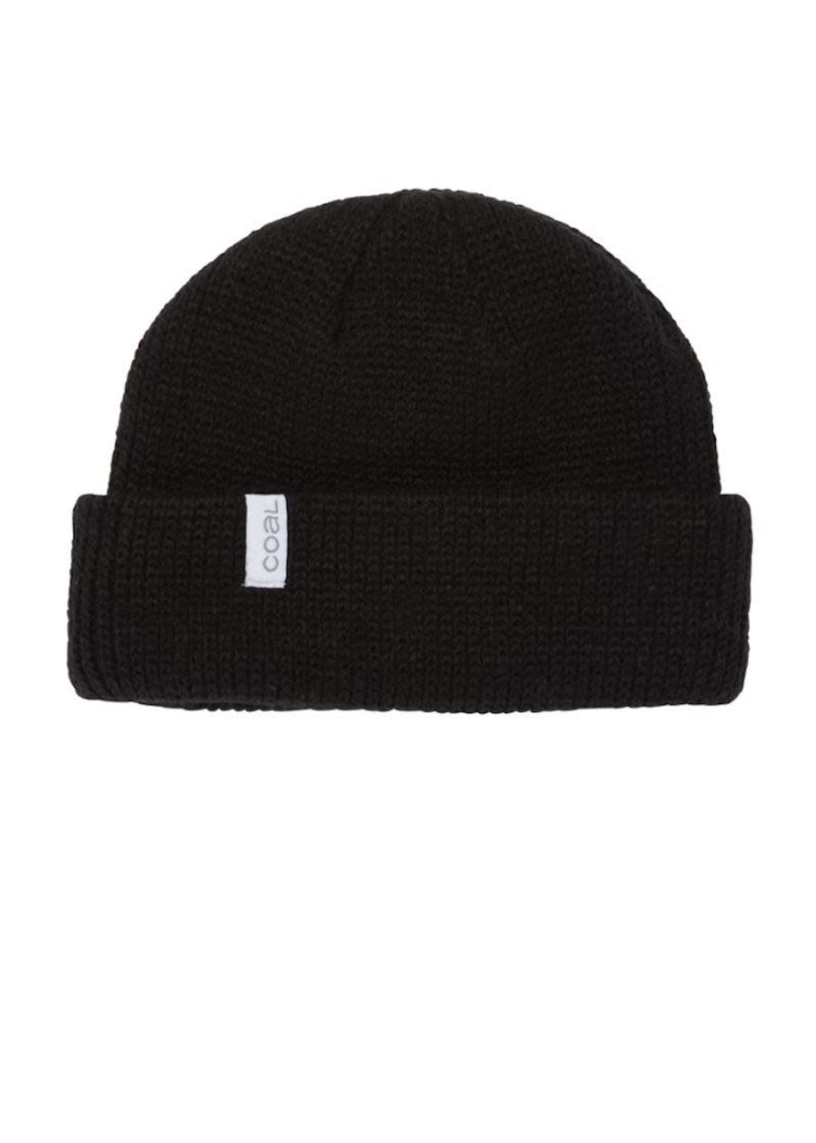 Coal Coal Headwear, The Frena Kids Thick Knit Beanie in Black