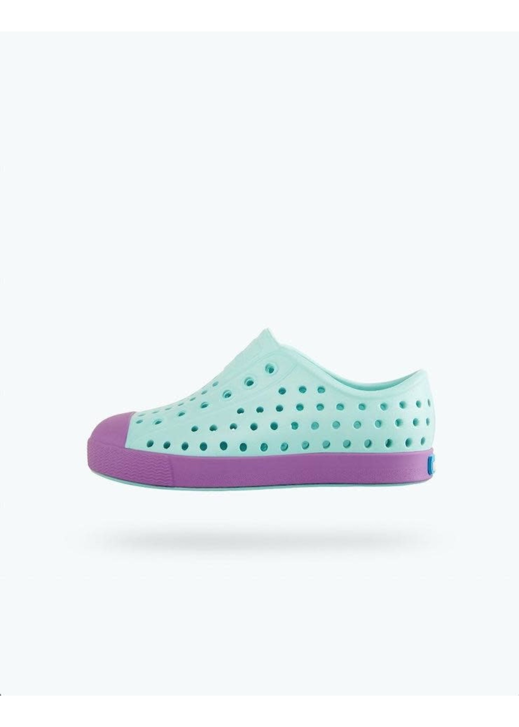 Native Shoes Native Shoes, Jefferson Child in Piedmont Blue/ Sea Fan Purple