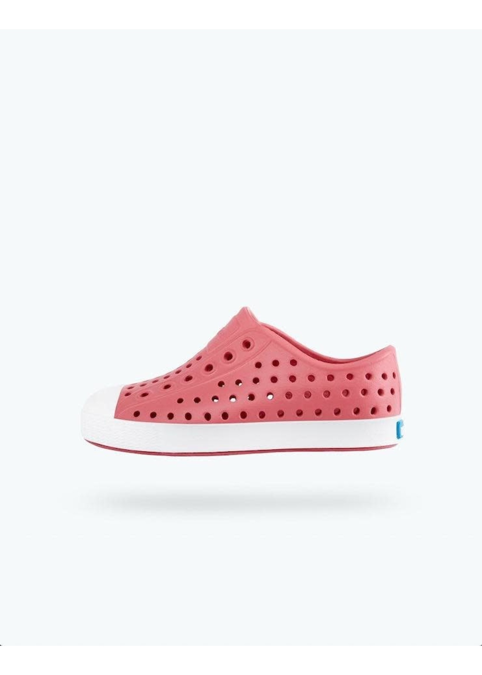 Native Shoes Native Shoes, Jefferson Child in Clover Pink/ Shell White