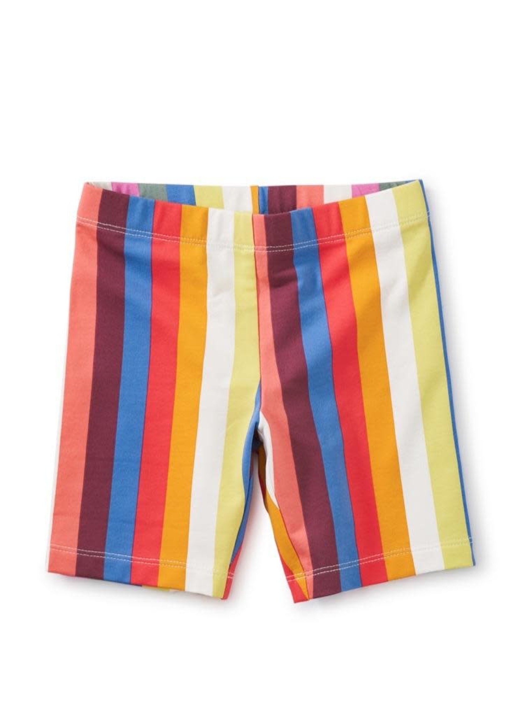 Tea Collection Vibrant Stripe, Printed Bike Shorts