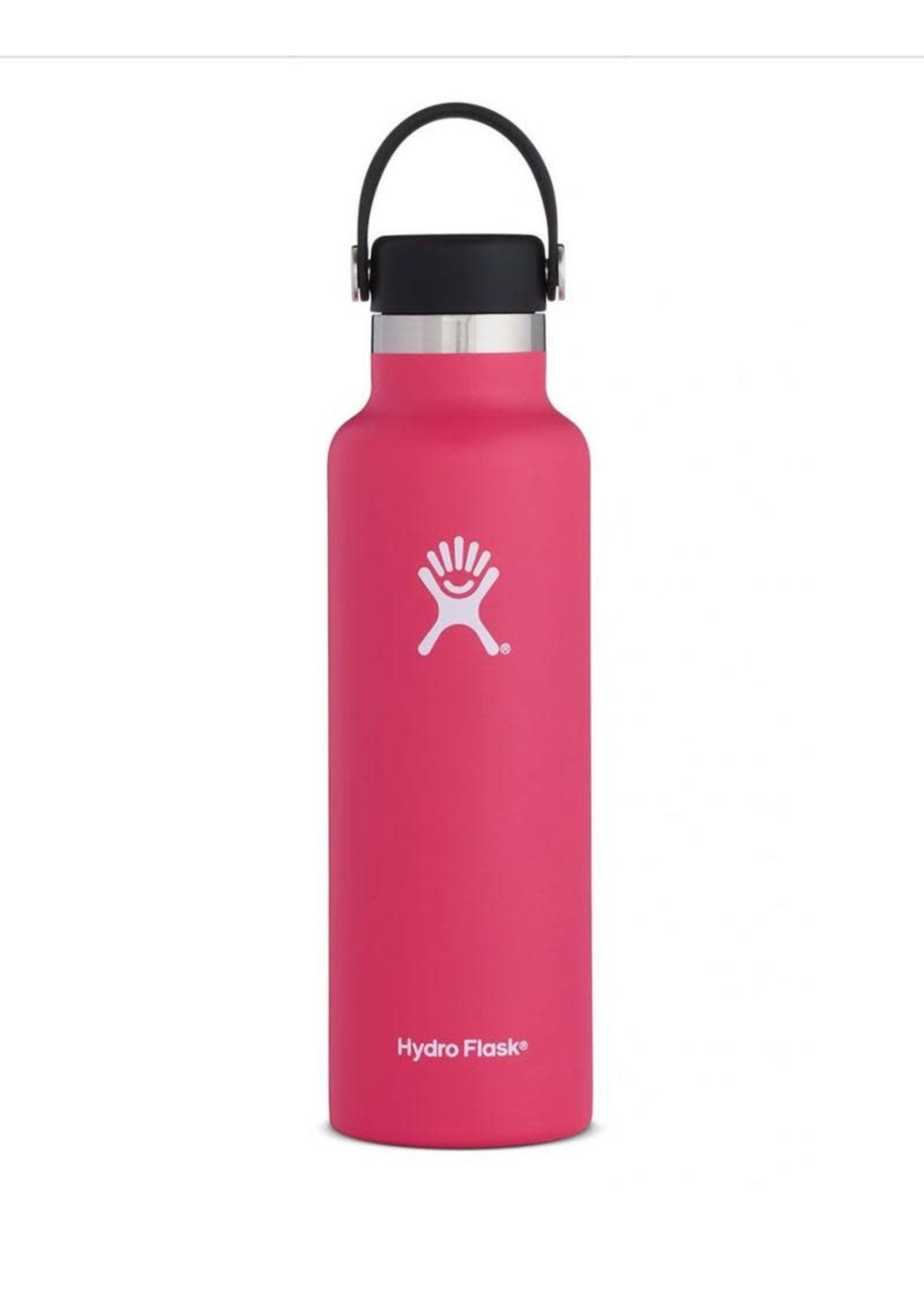 Hydro Flask Hydro Flask, 21 oz Standard Mouth Flex Cap Insulated Stainless Steel Bottle in Carnation