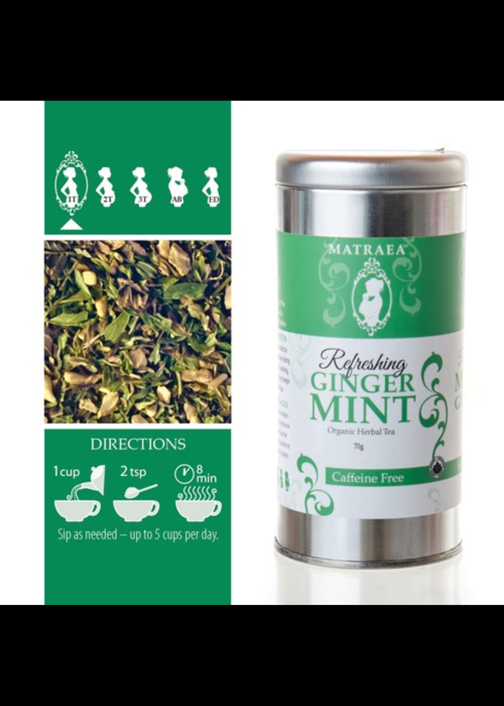 Matraea Matraea, Refreshing Ginger Mint Tea 50g