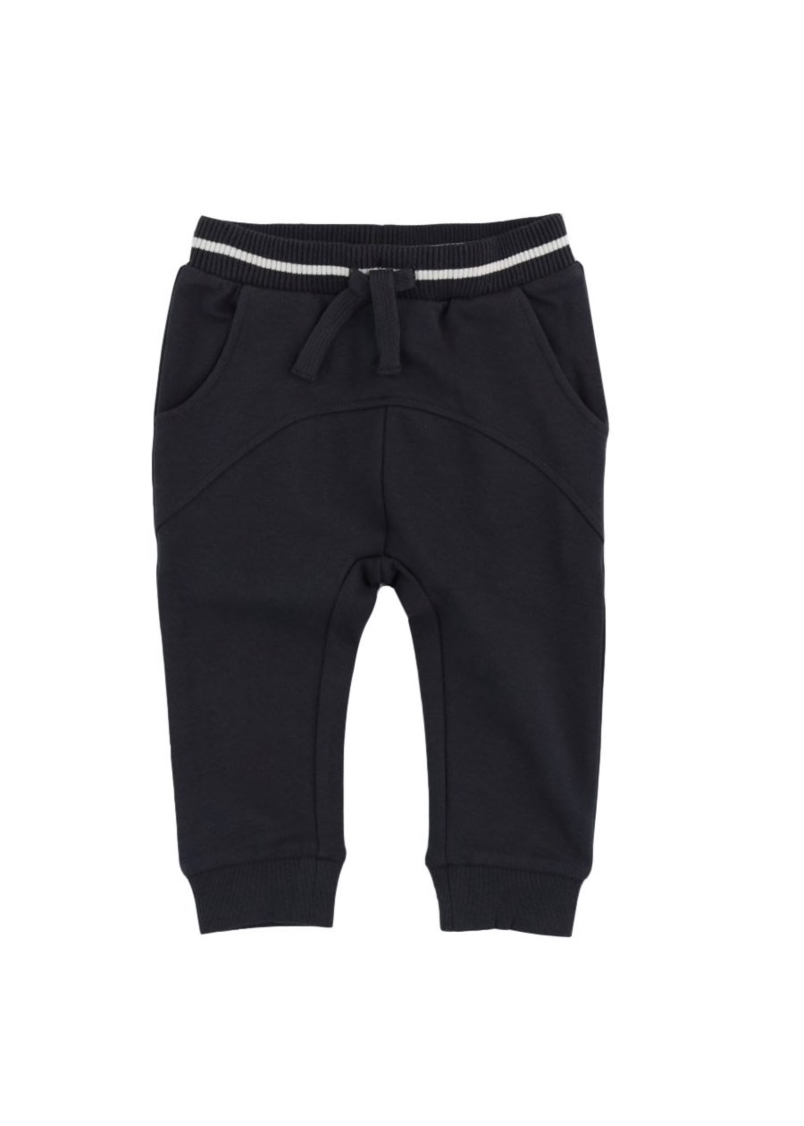 Miles Baby Miles Baby, French Terry Jogger Pants for Baby Boy