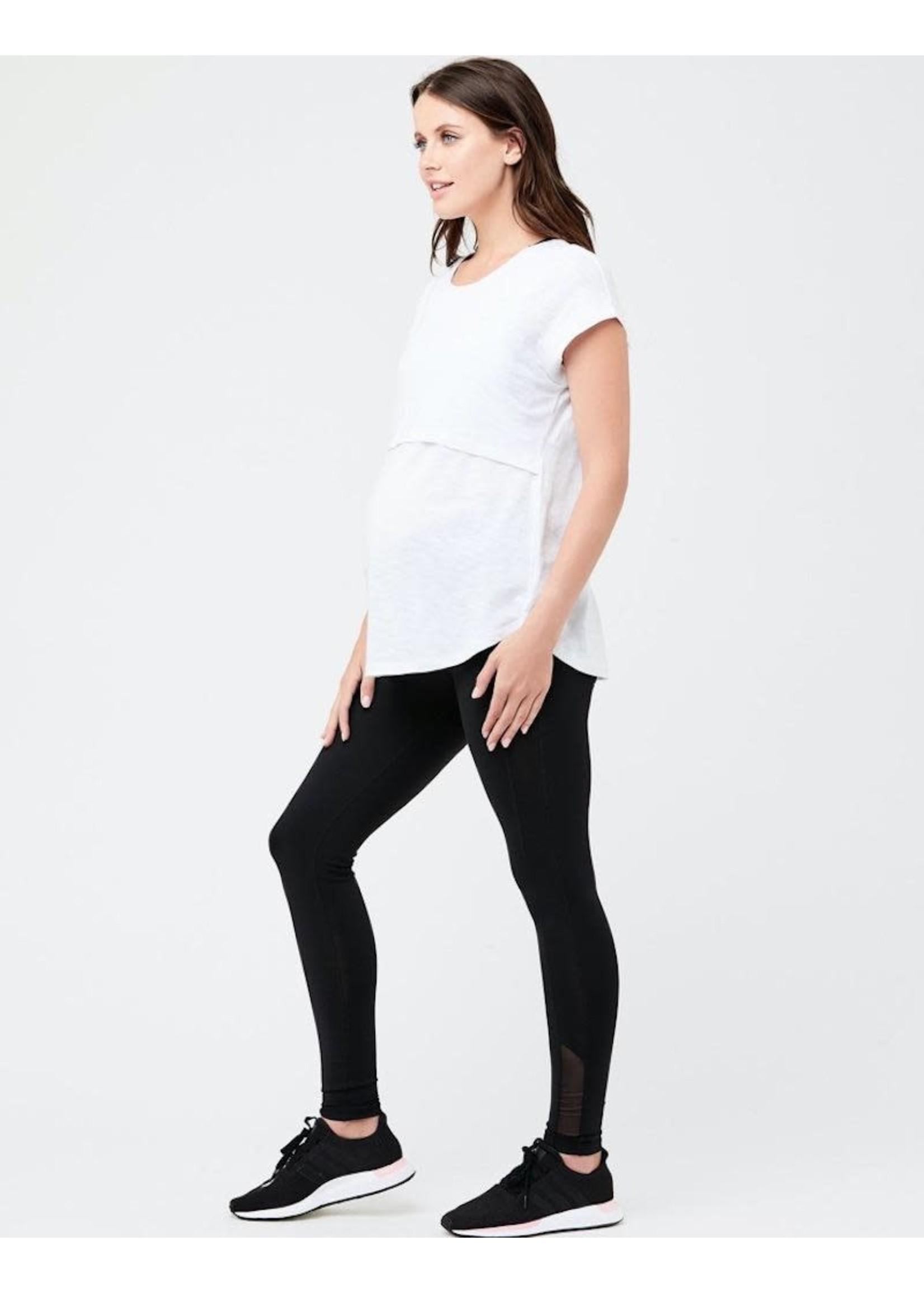 Ripe Maternity RIpe Maternity, Active Over Tummy Legging in Black