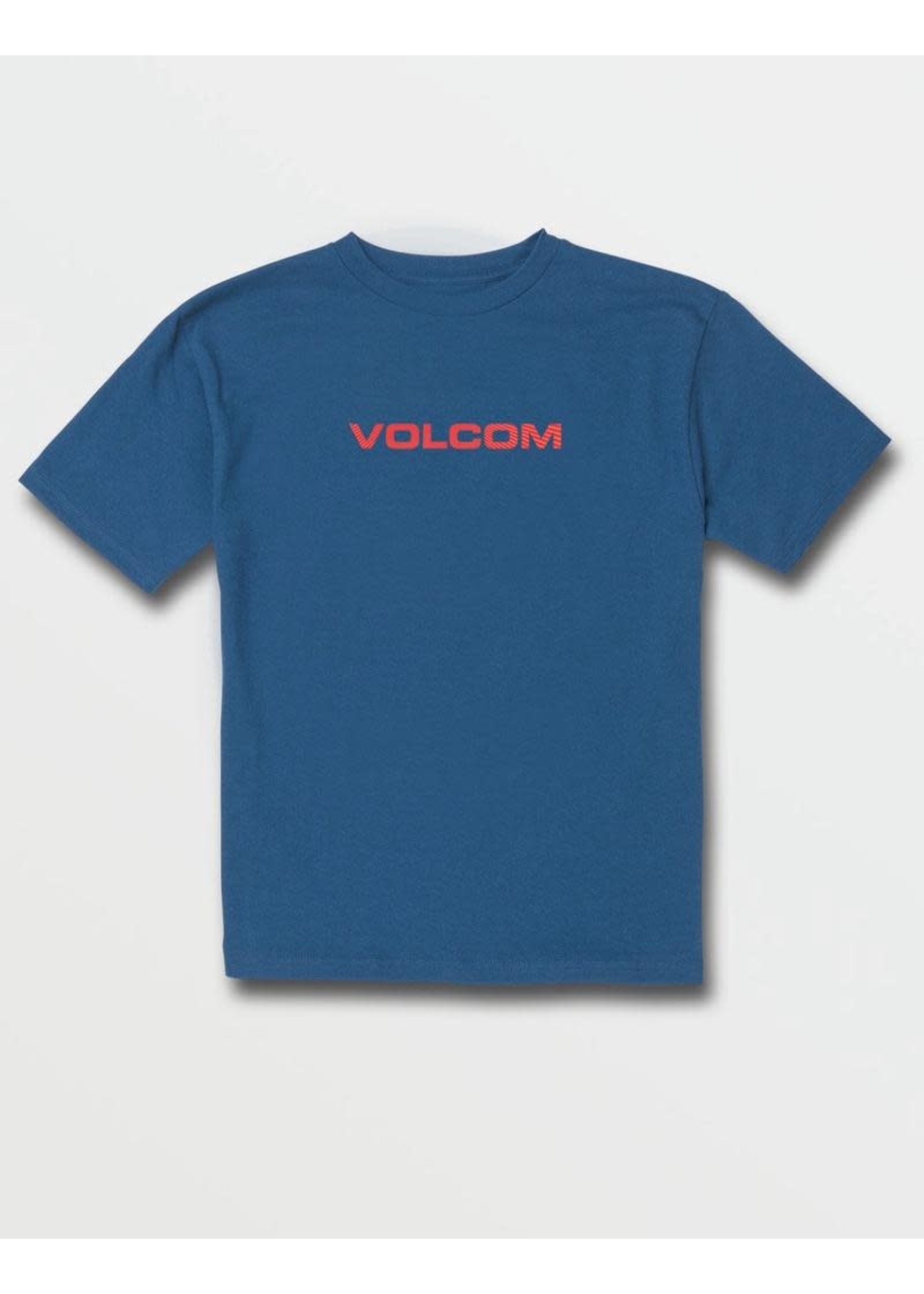Volcom Volcom Kids, Big Boys Riz Euro XXX Balpoint Blue Short Sleeve Tee