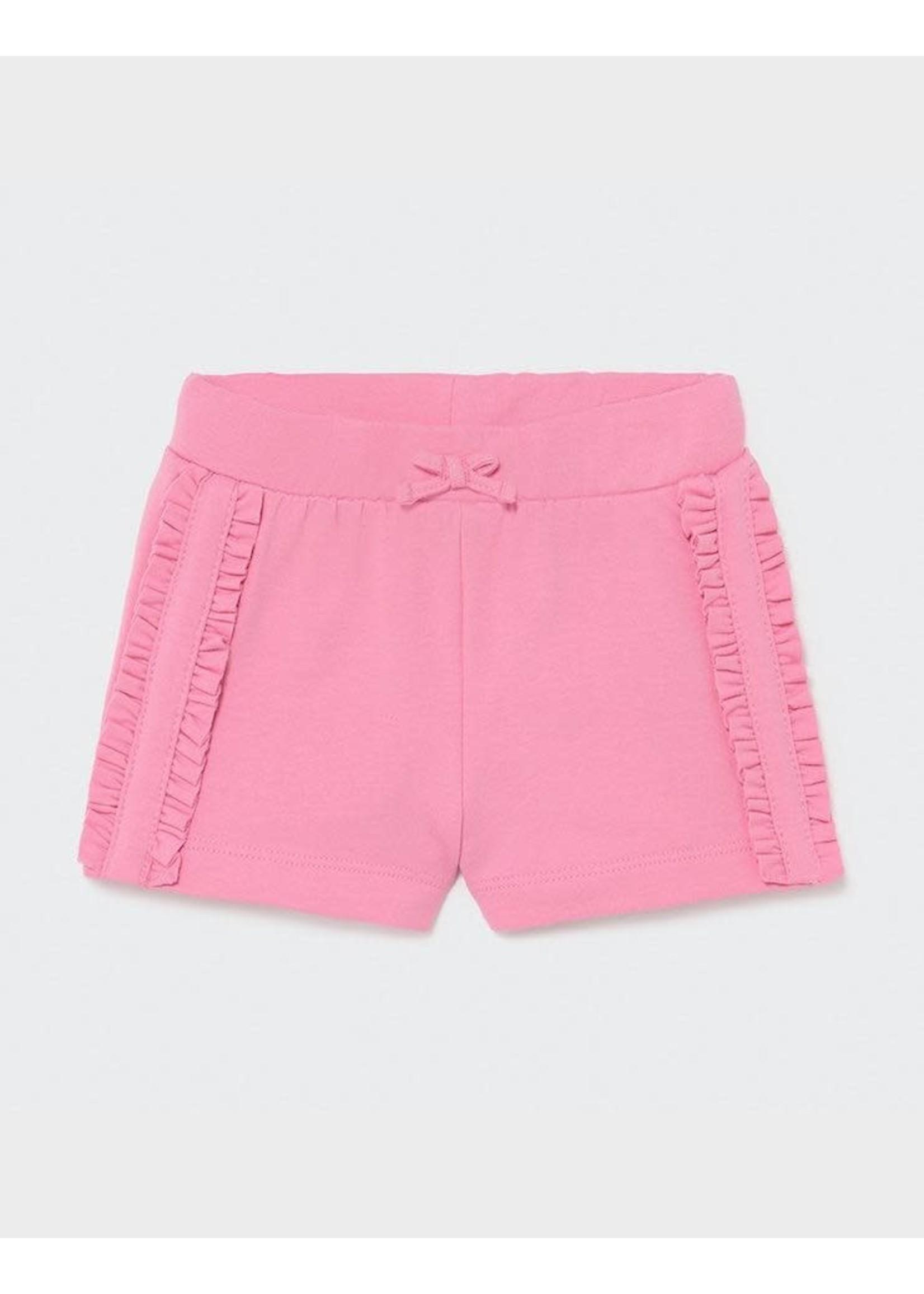 Mayoral Mayoral, Camellia Ruffled Baby Shorts