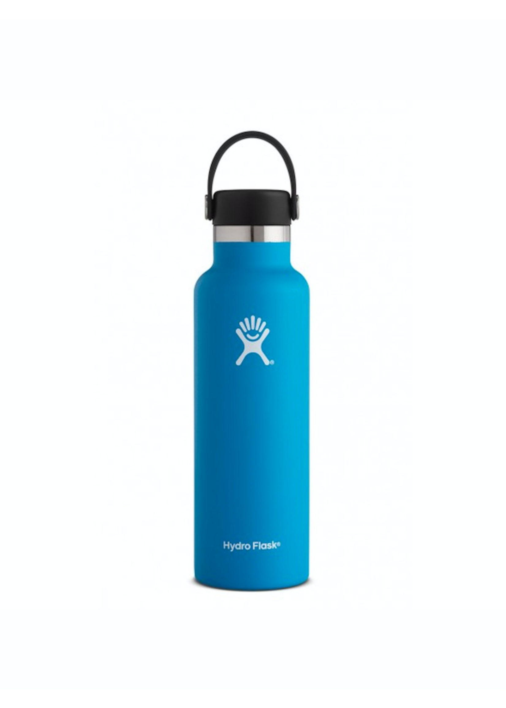 Hydro Flask Hydro Flask, 21 oz Standard Mouth Flex Cap Insulated Stainless Steel Bottle in Pacific