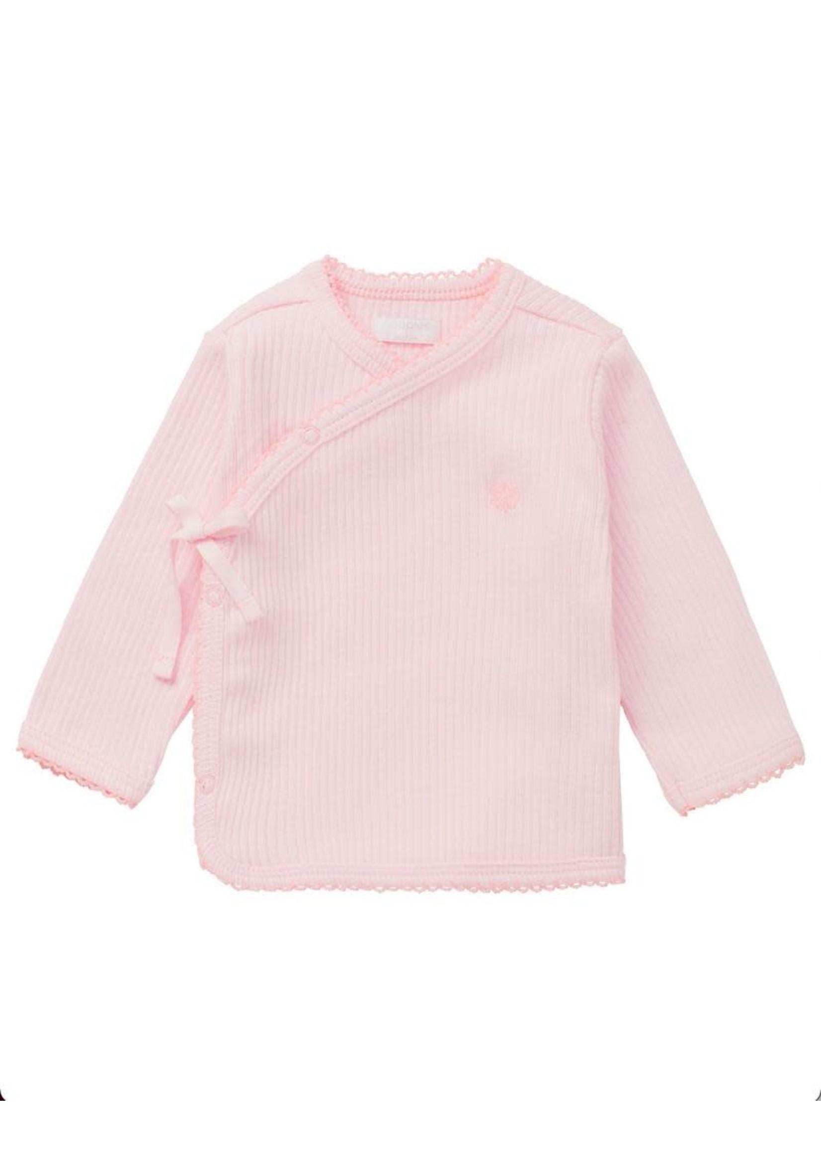 Noppies Kids Noppies Kids, Meadow Lake Primrose Pink Long Sleeve Shirt