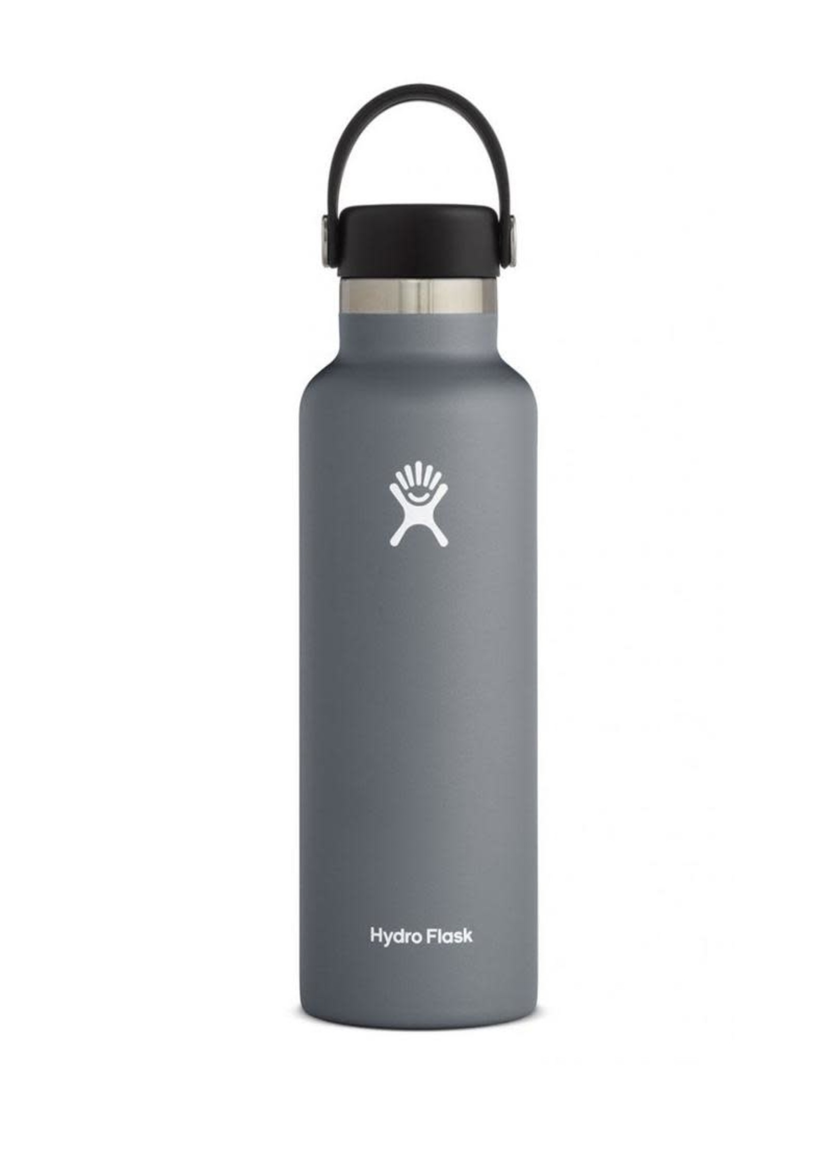 Hydro Flask Hydro Flask, 21 oz Standard Mouth Flex Cap Insulated Stainless Steel Bottle in Stone