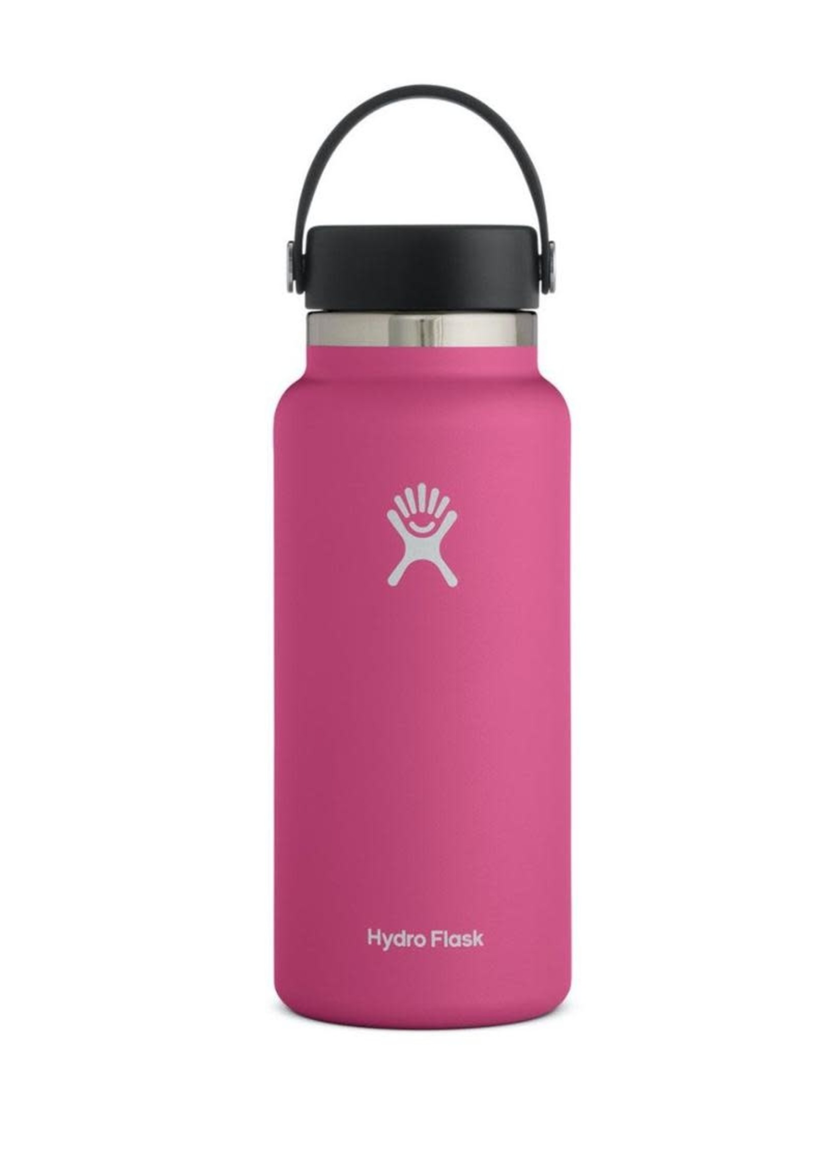 Hydro Flask Hydro Flask, 32 oz Wide Mouth 2.0  Flex Cap Insulated Stainless Steel Bottle in Carnation