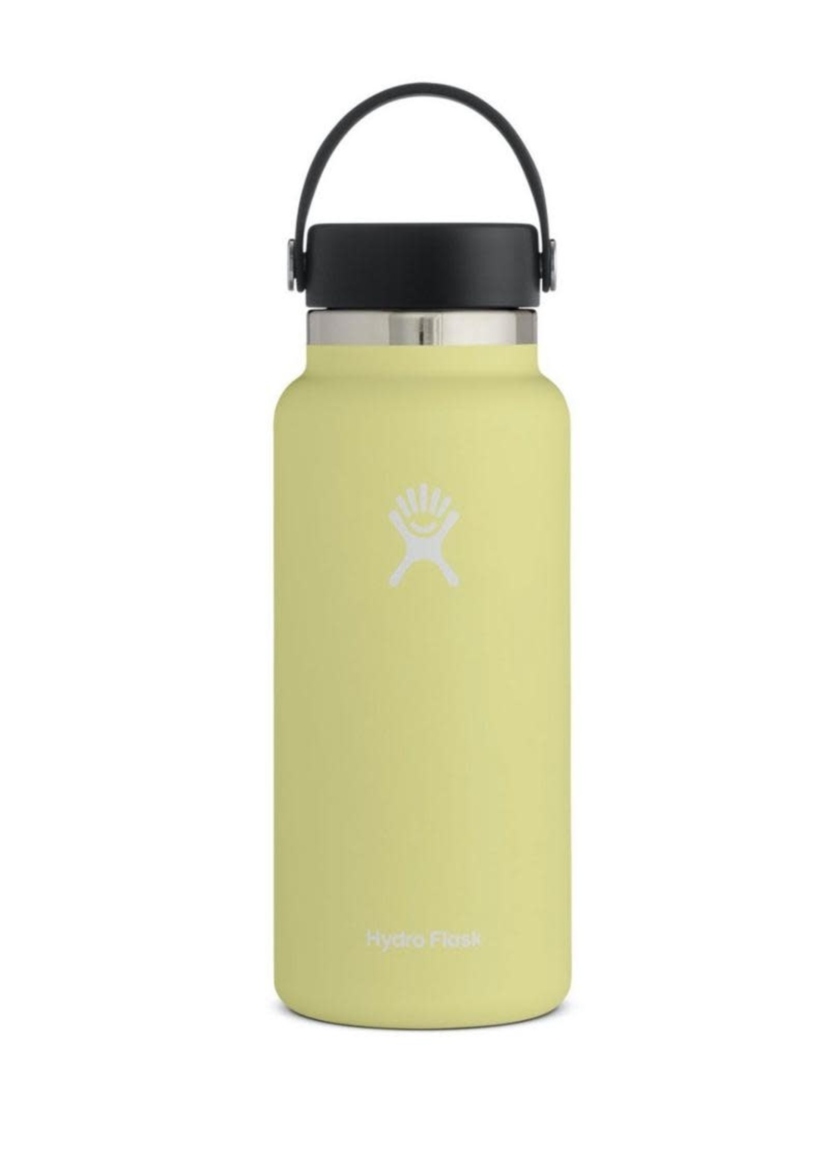 Hydro Flask Hydro Flask, 32 oz Wide Mouth 2.0  Flex Cap Insulated Stainless Steel Bottle in Pinapple