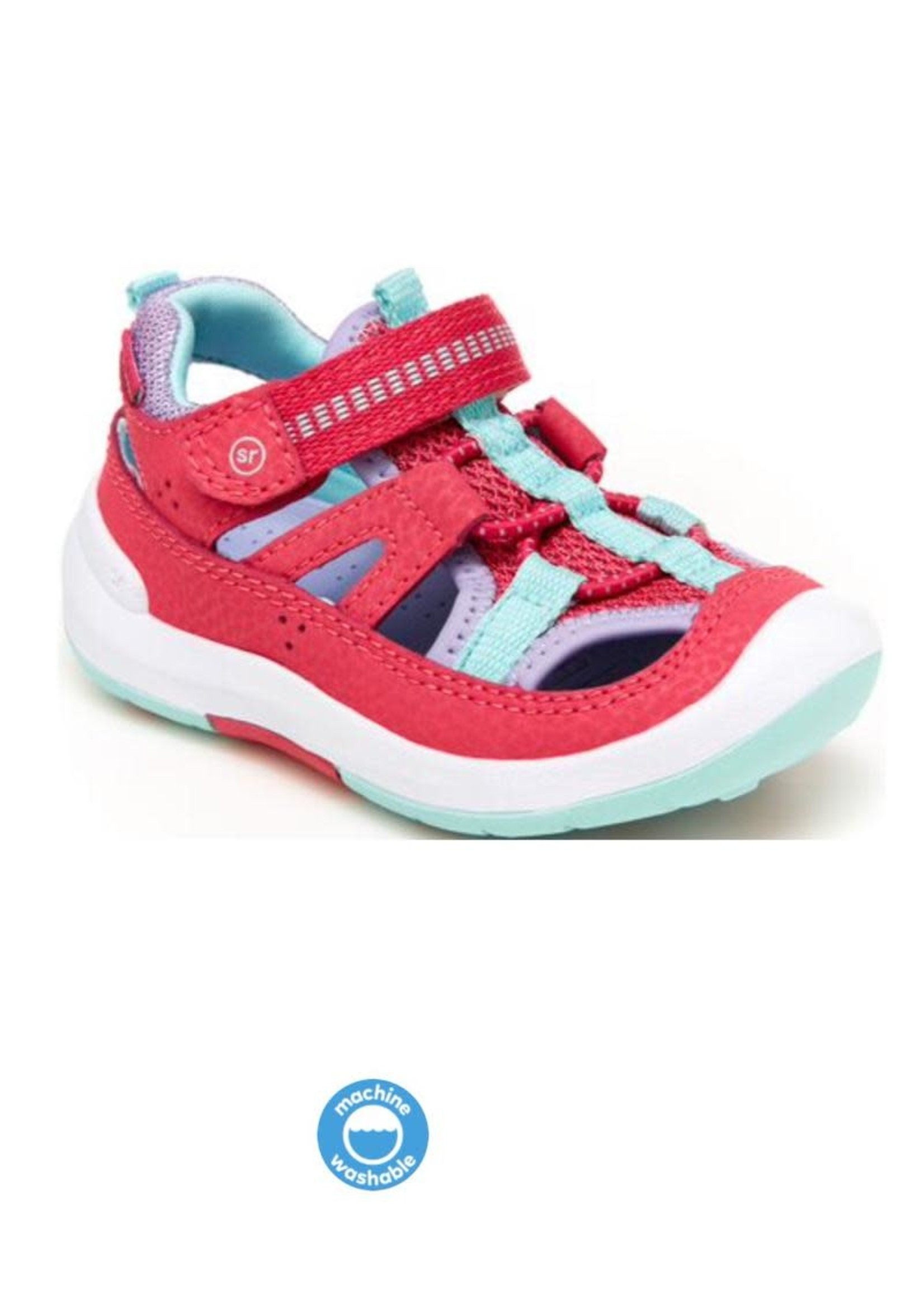 Striderite Stride Rite, Pink SRTech Wade Sneaker Sandal