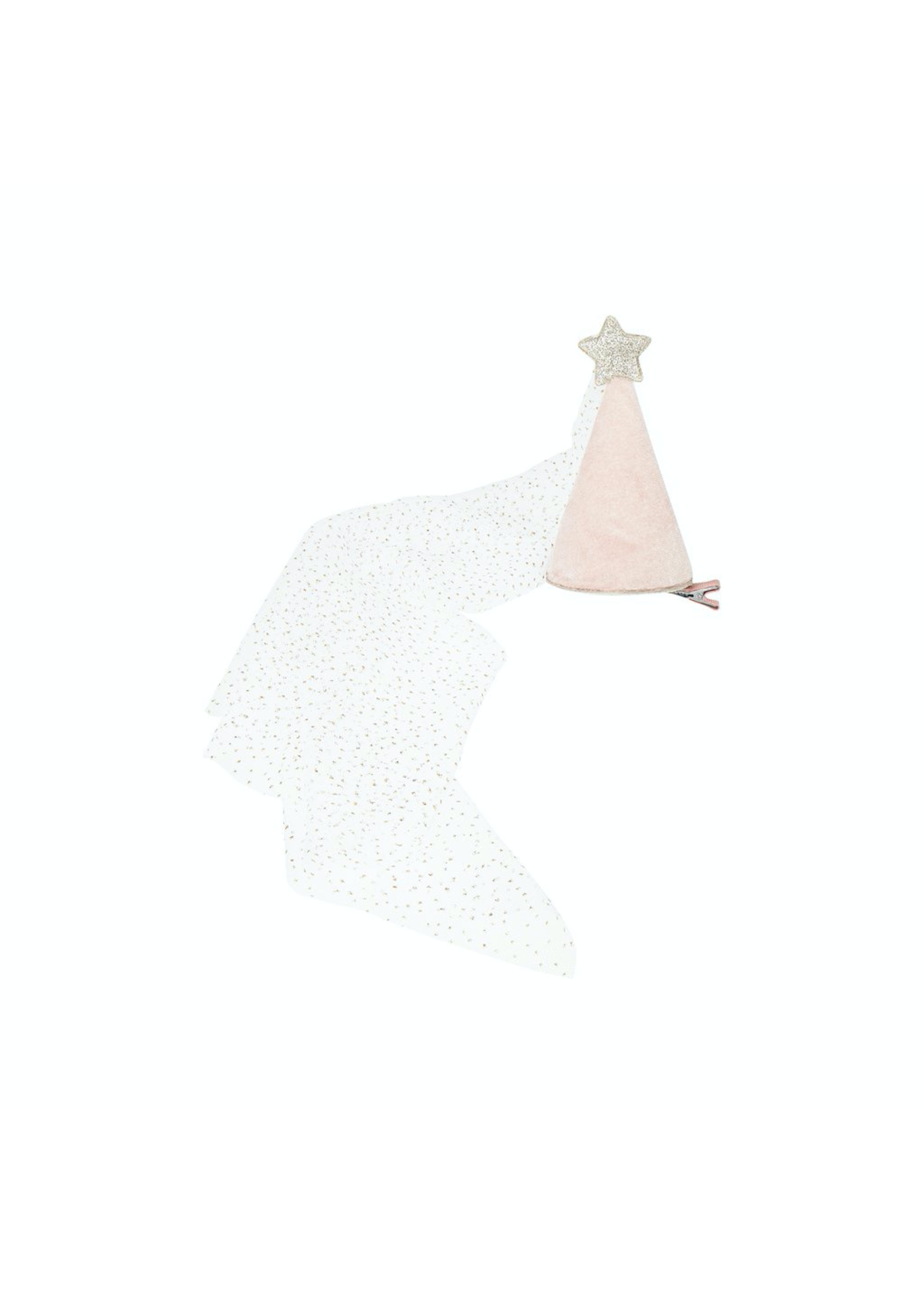 Mimi & Lula Mimi & Lula, Princess Hat, Pink / Silver Sparkle