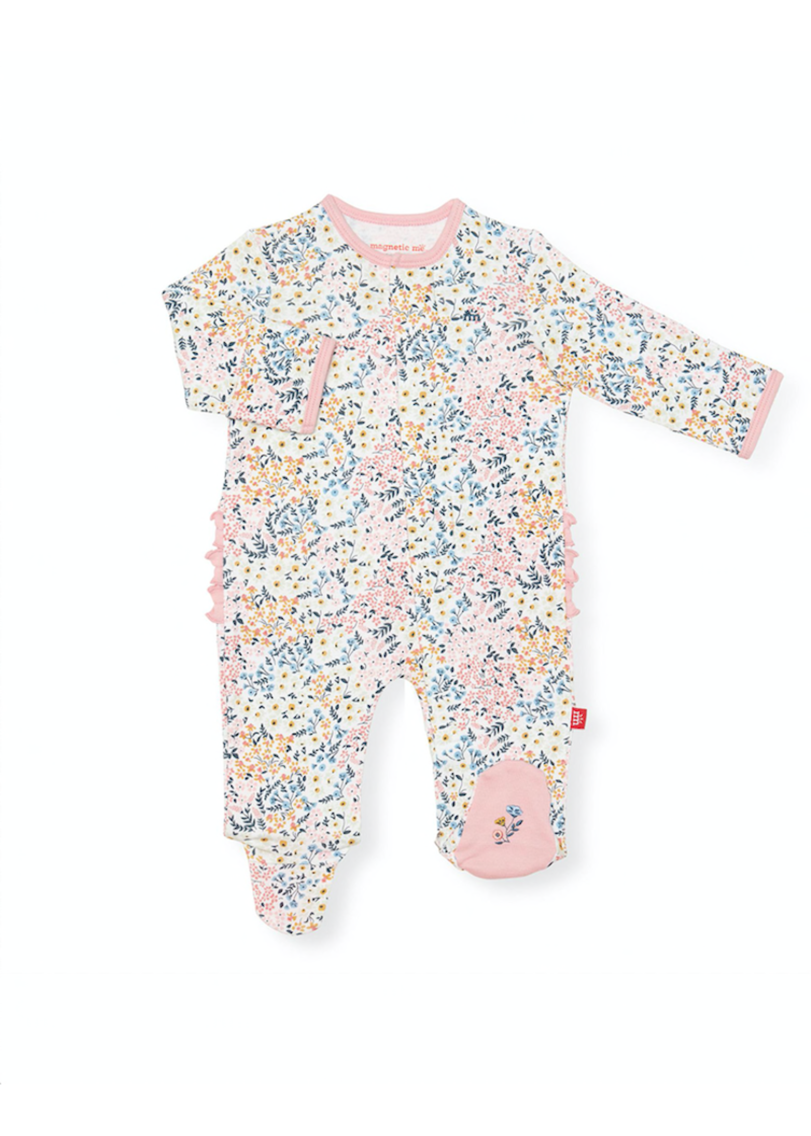 Magnetic Me Magnetic Me, Chelsea Organic Cotton Magnetic Footie