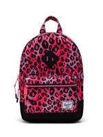 Herschel Supply Co. Heritage Backpack | Kids, Cheetah Camo Neon Pink/Black, 9L