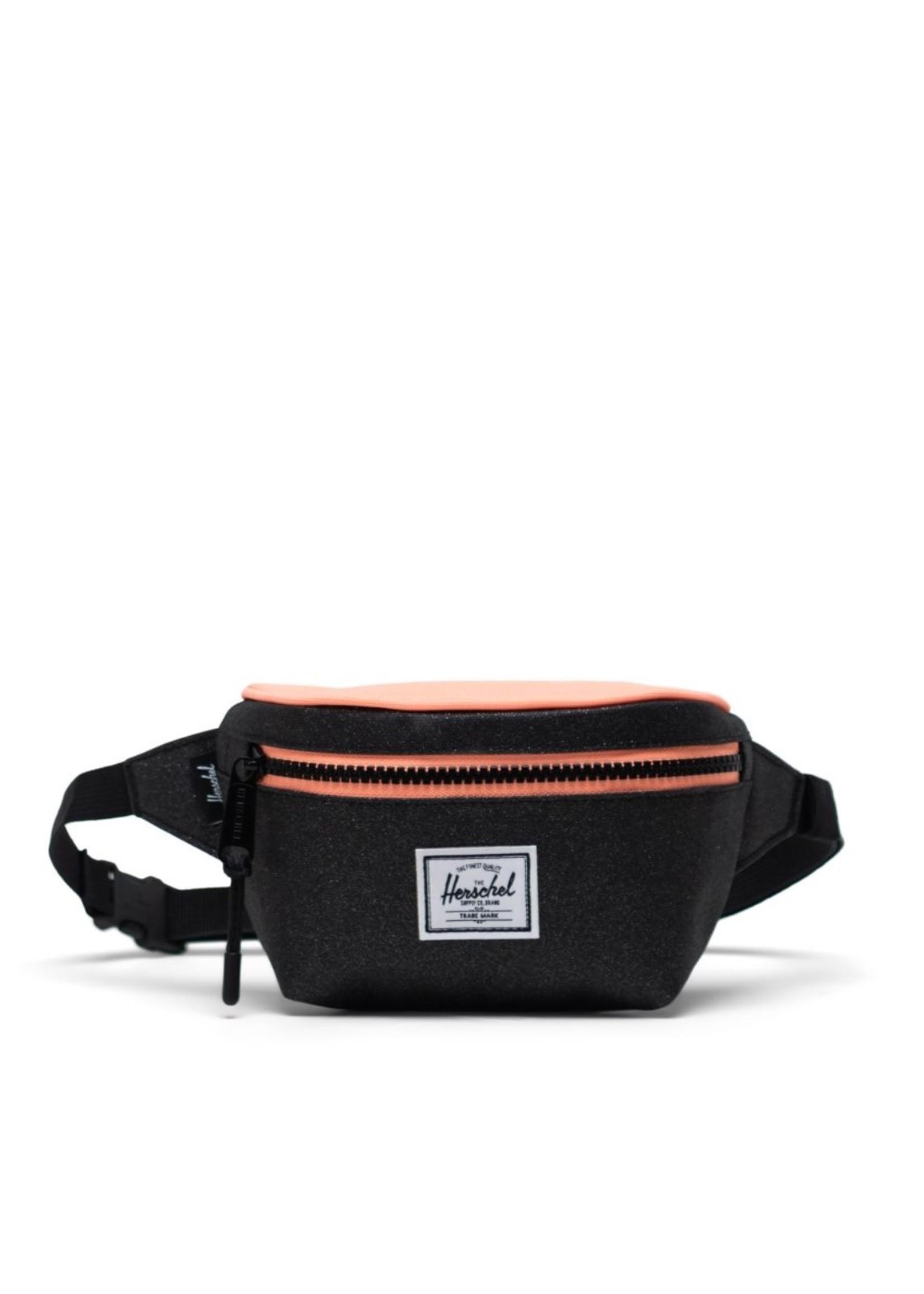 Herschel Supply Co. Twelve Hip Pack | Kids,  Black Sparkle/Neon Peach, 1L