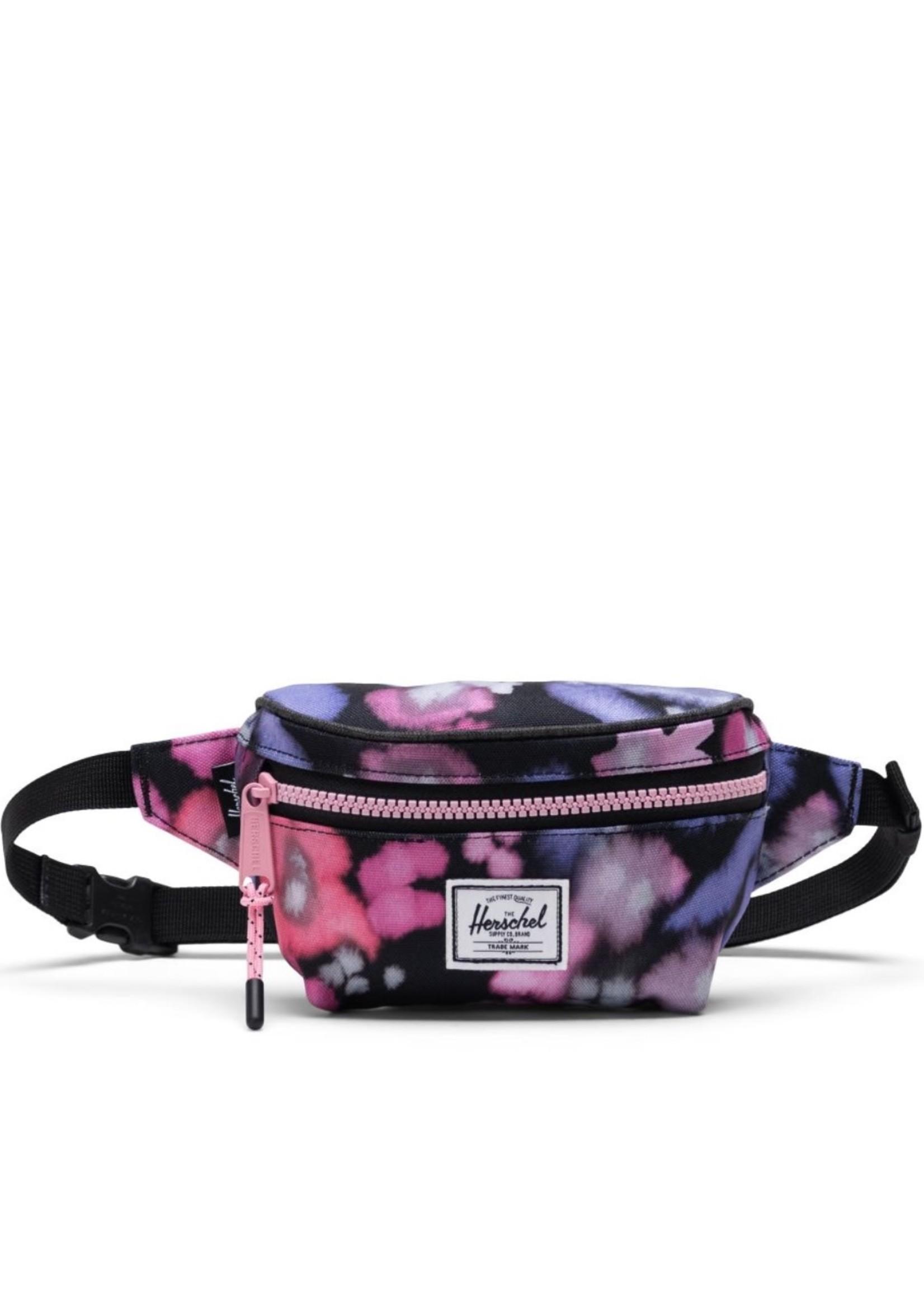 Herschel Supply Co. Twelve Hip Pack | Kids,   Blurry Floral/Black Crosshatch, 1L