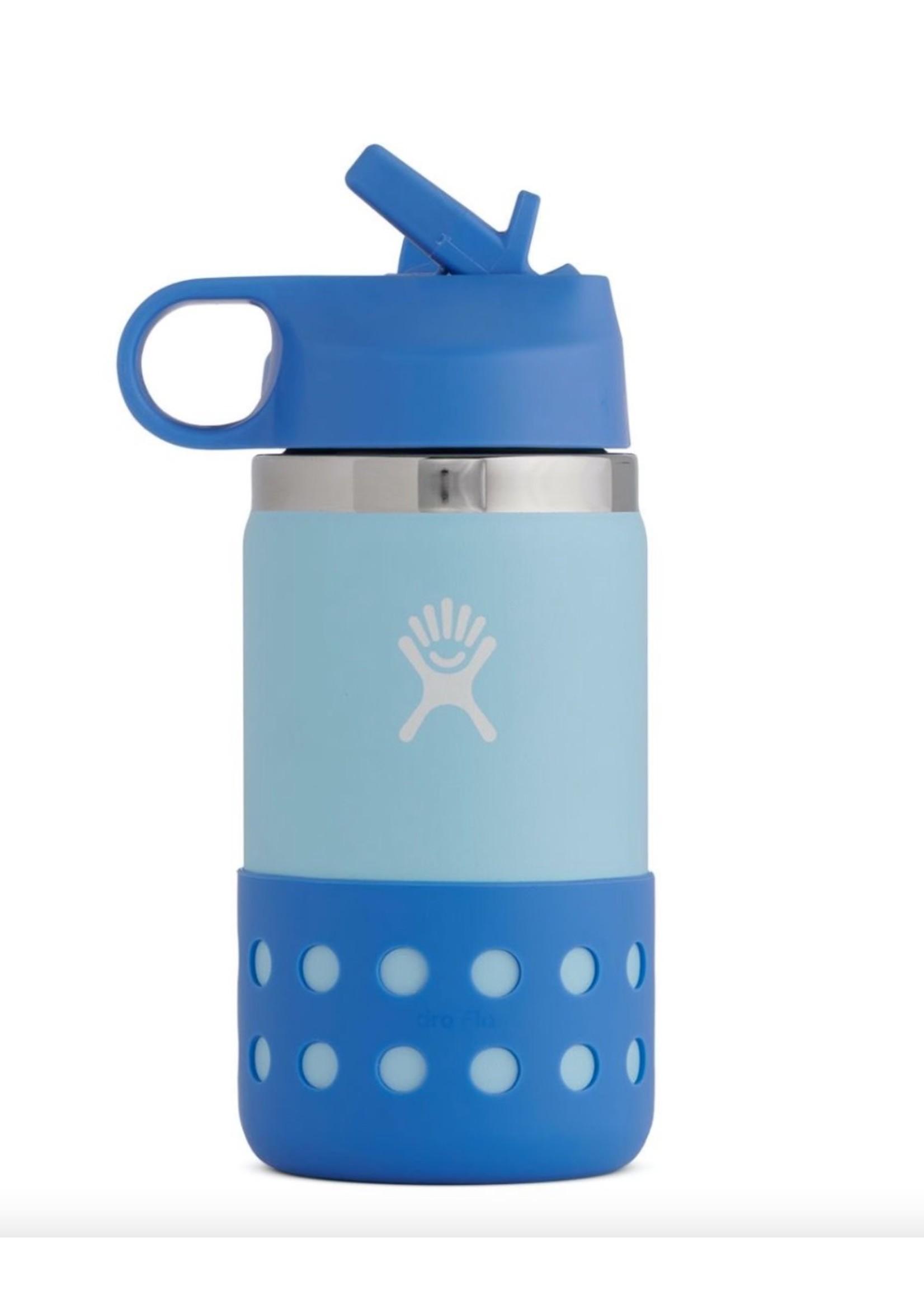 Hydro Flask 12 oz Kids Wide Straw Lid & Boot Ice