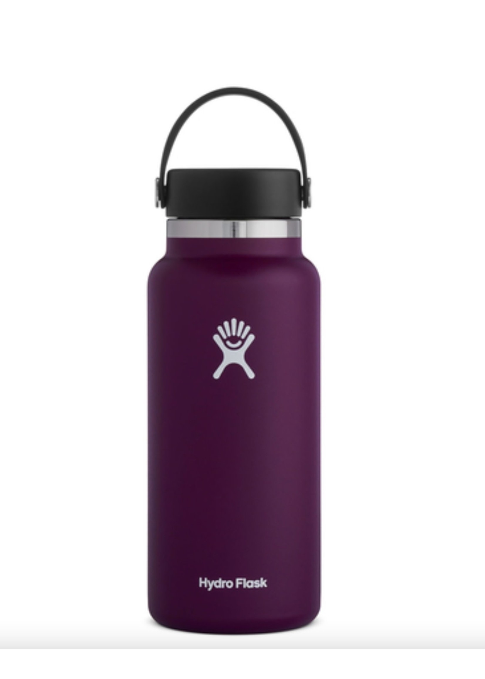 Hydro Flask 32 oz Wide Mouth 2.0  Flex Cap Insulated Stainless Steel Bottle in Eggplant