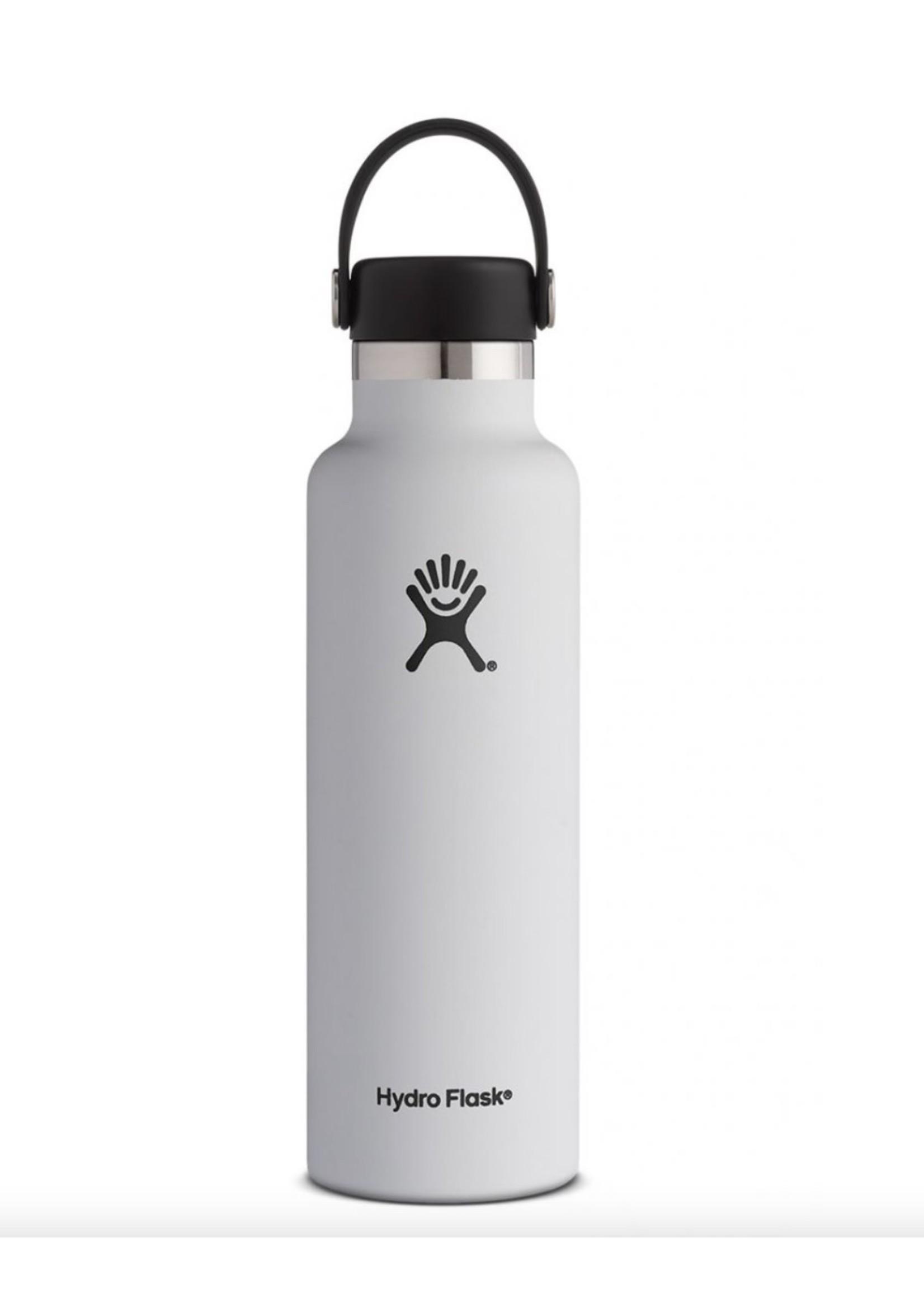 Hydro Flask Hydro Flask, 21 Oz Standard Mouth Flex Cap White