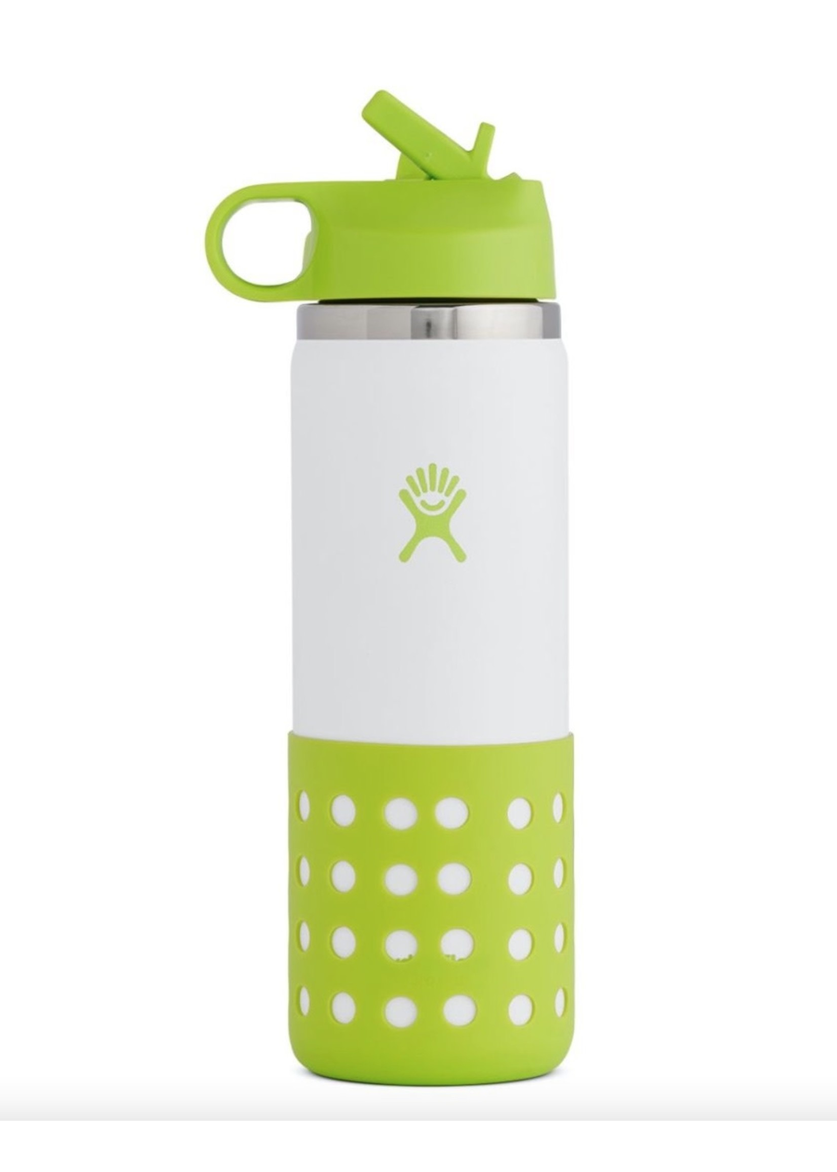 Hydro Flask Hydro Flask, 20 oz Kids Wide Mouth Straw Lid & Boot Jungle