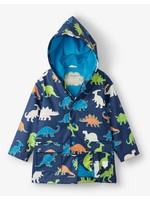 Hatley Linework Dinos Colour Changing Raincoat