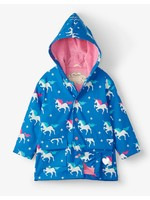 Hatley Twinkle Unicorns Colour Changing Raincoat