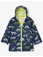 Hatley Dino Fossils Colour Changing Splash Jacket