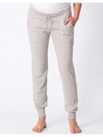Seraphine Honour Knitted Maternity Sweatpants in Grey