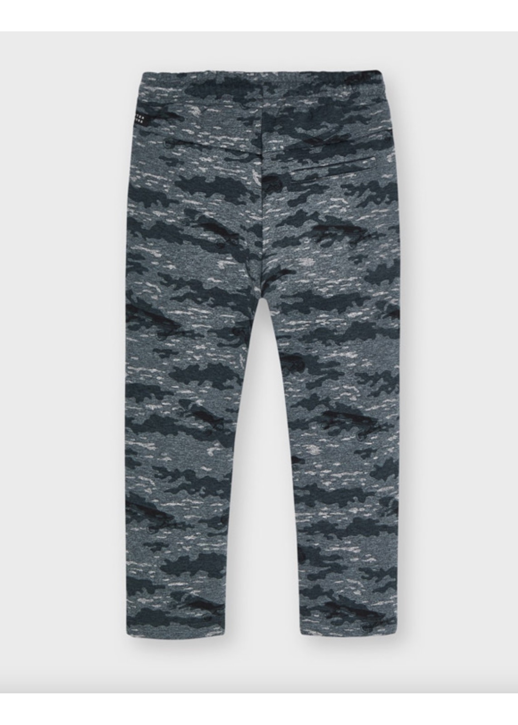 Mayoral Mayoral,  Printed Pants in Mixed Asphalt