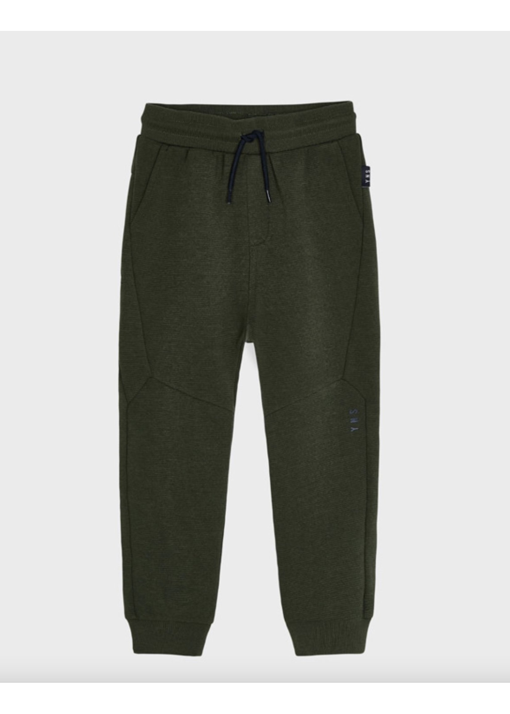 Mayoral Mayoral, Ottoman Knit Pants in Dill