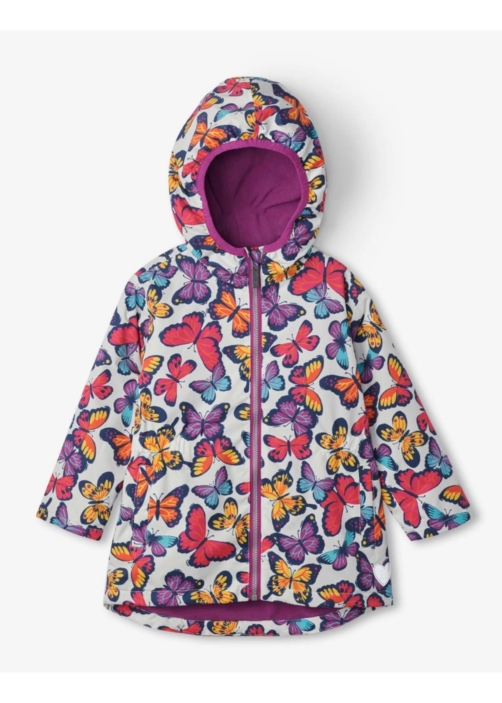 Hatley Hatley, Kaleidoscope Butterflies Microfleece Lined Jacket