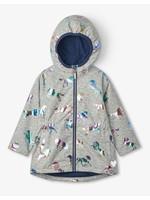 Hatley Hatley, Rainbow Horses Microfleece Lined Jacket