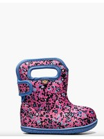 Bogs Bogs, Baby Bogs Pink Little Textures Waterproof Boots