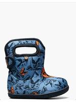 Bogs Bogs, Baby Bogs Blue Cool Dinos Waterproof Boots