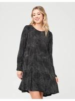 Ripe Maternity Ripe Maternity, Pip Spot Woven Dress in Black / White