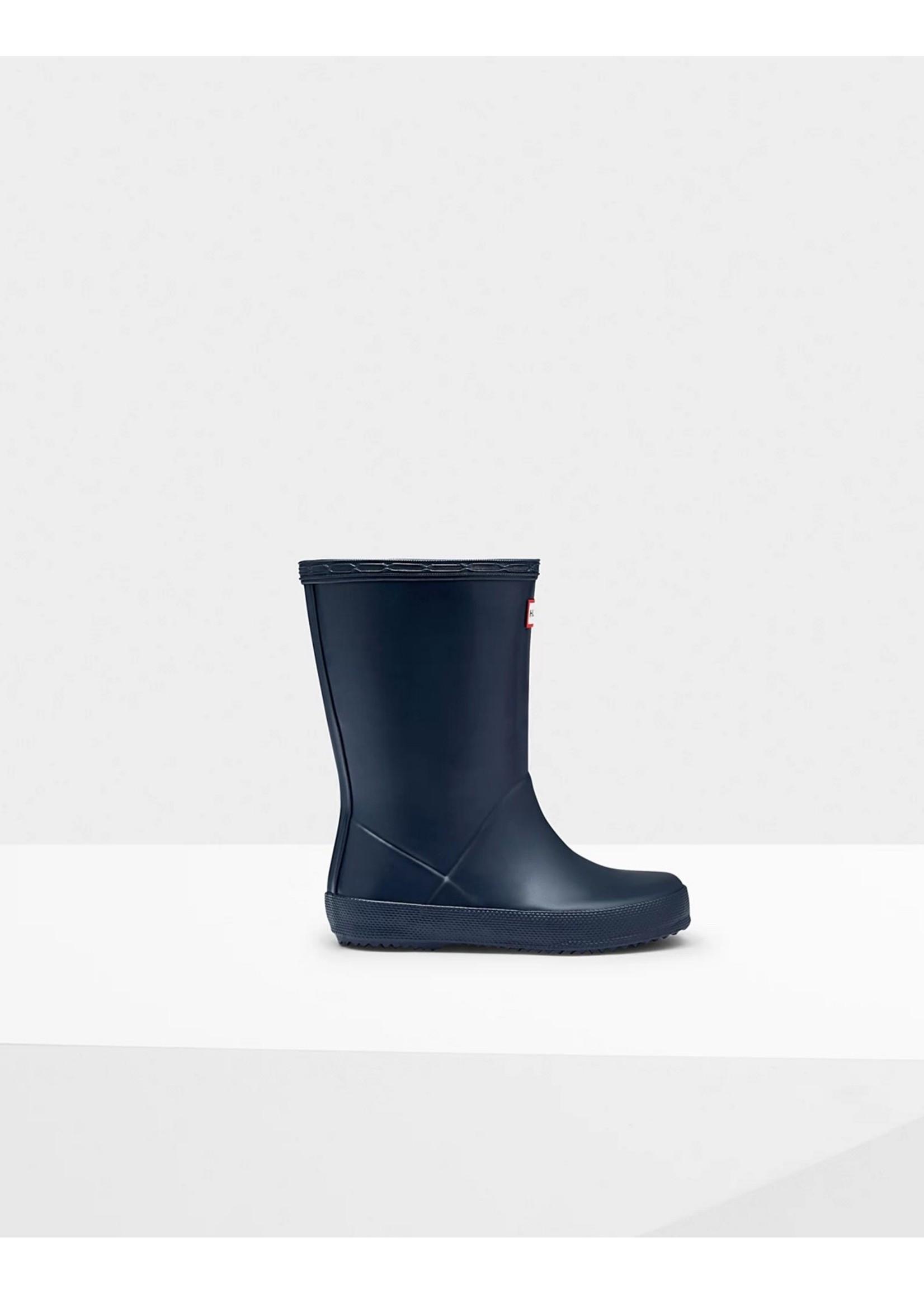 Hunter Boots Hunter Boots, Original Kids First Classic Rain Boots: Navy