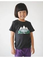 Whistle & Flute Whistle & Flute, Kawaii Mountain Grey T-Shirt