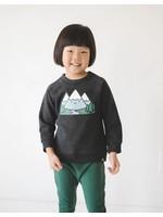 Whistle & Flute Whistle & Flute, Kawaii Mountain Grey Sweatshirt