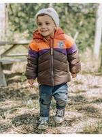 Souris Mini Souris Mini, Color Block Puffer Coat
