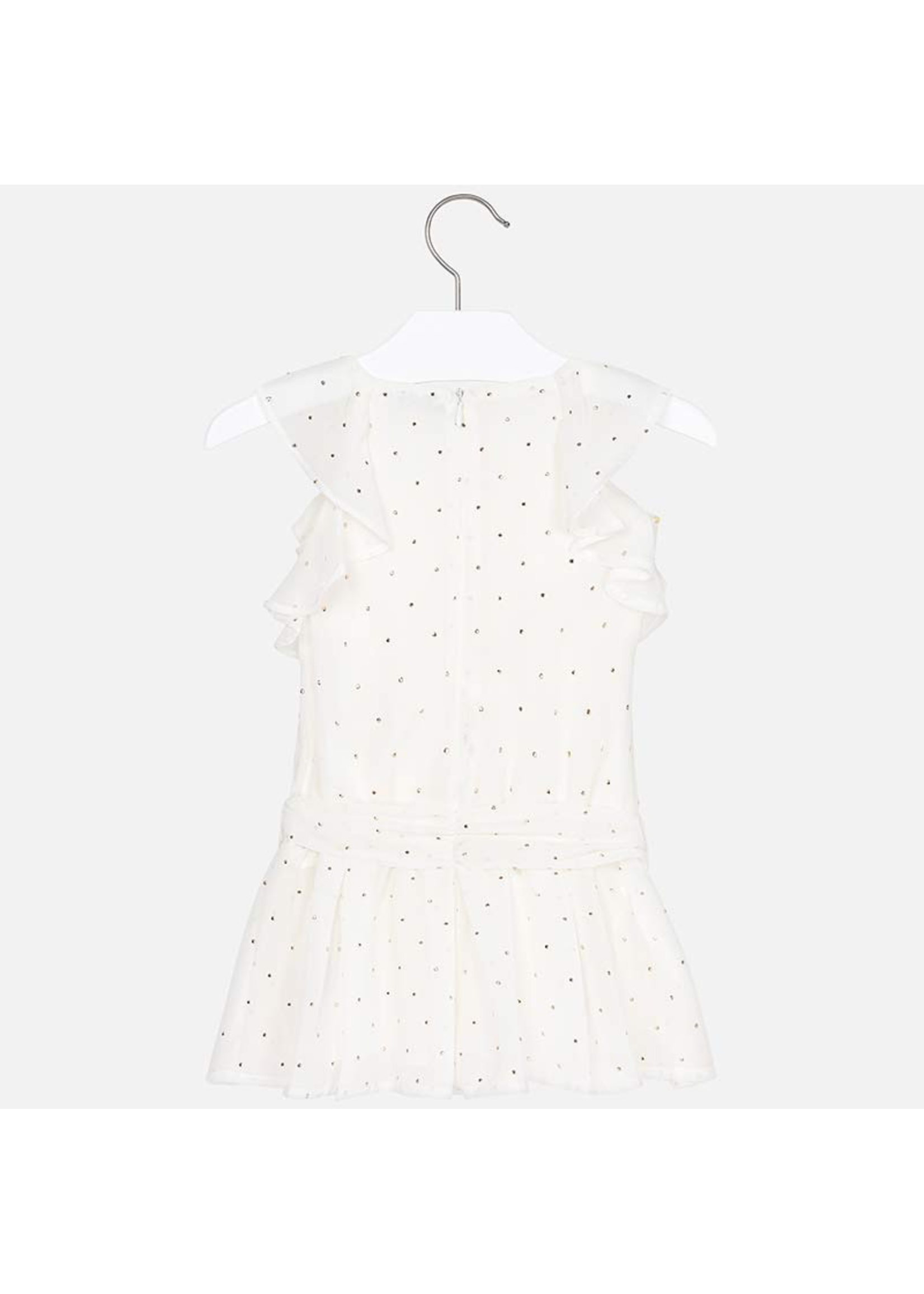 Mayoral Mayoral, Chiffon Play Suit with Studs for Girl