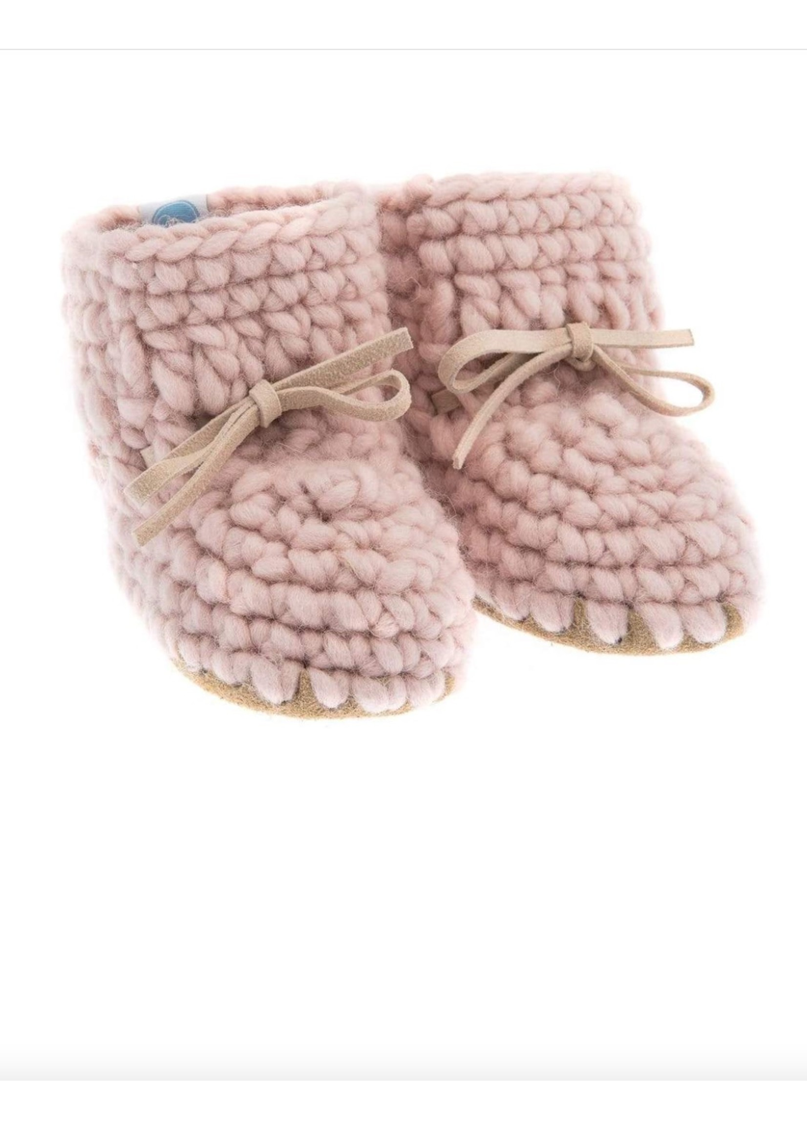 Beba Bean Bebe Bean, Sweater Mocs In Pink